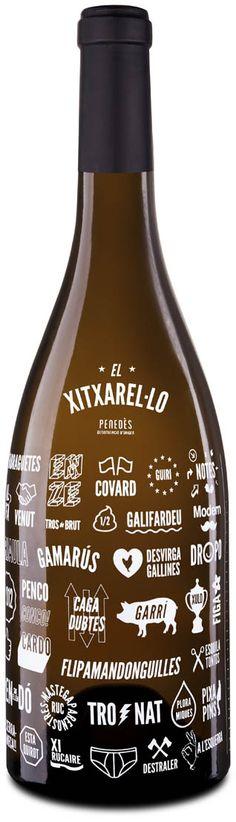 Ampolla El Xitxarel·lo #taninotanino #vinosmaximum PD