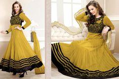 Aurabeam Georgette Anarkali Salwar Suits