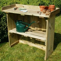 <p>This British made, Folding Utility Table is a great garden investment for those of you who love to plant outdoors but need extra space. The high quality design and pressure treated softwood timber is easy to maintain and can fold and unfold in minutes. Alternatively, it can be used as a barbecue table for garden parties – mini bar anyone?</p>