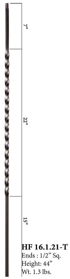 Cheap Stair Parts - 16.1.21-T Hollow Long Twist, $4.65 (http://cheapstairparts.com/16-1-21-t-hollow-long-twist/)