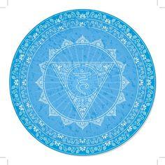 Símbolos y significado de los siete chakras principales: Quinto chakra (Vishuddha)