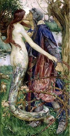 John Waterhouse - Mermaid