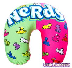 Take a look at this Nerds Microbead Neck Pillow today! Candy Pillows, Cute Pillows, Bulk Candy, Candy Shop, Nerds Candy, Online Candy Store, Willy Wonka, Best Pillow, Candy Gifts