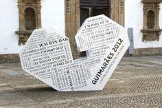 Guimaraes: 2012 European Capital of Culture Via Jdomb´sTravels Algarve, Portugal, Medieval Town, Walking Tour, Cities, Beautiful Places, Surface, Castle, Tours