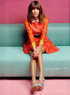 Alexa Chung X Elle UK