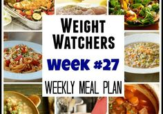 Weight Watchers Meal Plans #27 with recipes and points plus for breakfast, lunch, dinner, snacks and dessert. http://simple-nourished-living.com/2015/04/weight-watchers-meal-plans-week-27/