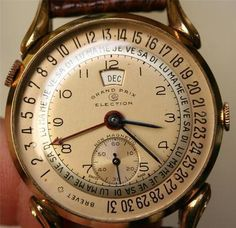 Grand Prix Brevet Election vintage watch...  #BureauOfTrade