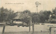 1910 Vintage Postcard Band Stand & Windmill PORT MAITLAND Ontario | eBay