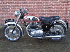 Anthony Godin | BSA Road Rocket Small Motorcycles, British Motorcycles, Vintage Motorcycles, Standard Motorcycles, Vintage Bikes, Vintage Cars, Classic Bikes, Classic Cars, Bsa Motorcycle