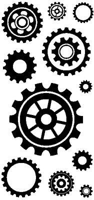 gear clear mount stamps