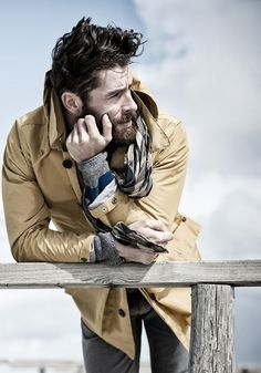 Ditch the Hoodie: Men's Rugged Style Photos) - Suburban Men Fotografie Portraits, Fashion Fotografie, Rugged Style, Sharp Dressed Man, Well Dressed Men, Hipster Hairstyles Men, Men's Hairstyles, Stylish Hairstyles, Style Brut