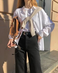 Layering Outfits, Winter Outfits, Mode Hipster, Looks Style, My Style, Minimalist Street Style, Minimal Outfit, Neutral Outfit, Facon