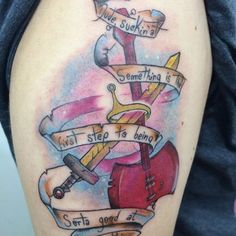 Piercing Tattoo, I Tattoo, Piercings, Time Tattoos, Tatoos, Adventure Time Tattoo, Bubbline, Tattoo Inspiration, Tattoo Ideas