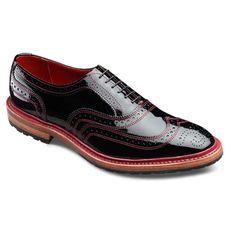 Special Edition - Patent Ridgeway - Men's Wingtip Lace-up Casual Shoes by Allen Edmonds