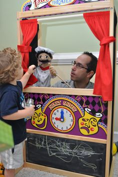 Young kids love our puppet collection. Check it out here: http://www.melissaanddoug.com/firefighter-puppet