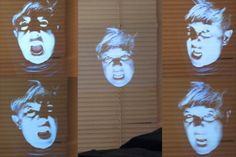 How to Create a Ghost Illusion floating in the air at your front door or Window...So cool!