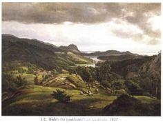 Johan Christian Dahl (1788–1857): Fra Lysekloster, 1827