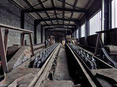 Einer der wenigen erhaltenen Wagenumläufe im Ruhrgebiet