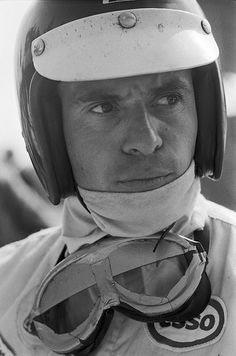 Jim Clark. Won two World Championships, ('63 and '65. A versatile driver competing in sports cars, touring cars and the Indianapolis 500, which he won in 1965. Particularly associated with Lotus, he was killed in a Formula Two racing accident in Hockenheim, Germany in 1968. At the time of his death, he had won more Grand Prix races (25) and achieved more Grand Prix pole positions (33) than any other driver. The Times placed Clark at the top of a list of the greatest Formula One drivers in…