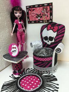 Divano poltrona Mobili per BarbieDoll di PINKLITTLEFURNITURE