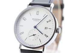 $99 Classic Rodina R005GB Automatic Watch OEM by Sea-Gull ST1731 Movement Bauhuas Style Watch / Date + Independent Second Hand. Reddit likes these
