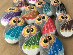 Painted Rock Ideas - Do you need rock painting ideas for spreading rocks around your neighborhood or the Kindness Rocks Project?Beautiful & Unique Rock Painting Ideas , Let's Make Your Own Creativityowl as power Best Painted Rocks Ideas, Weapon t