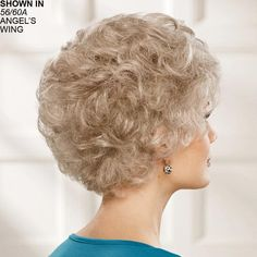 Pleasure WhisperLite® Wig by Paula Young® Short Permed Hair, Permed Hairstyles, Short Hair Trends, Fig Jam, Perms, Short Haircuts, Cool Costumes, Curly Hair Styles, Hair Care