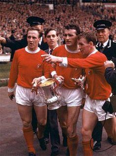 1963 FA نهائي كأس مانشستر يونايتد مع ليستر سيتي (تذكرة)