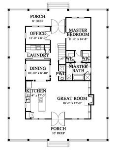 May Fair Cottage House Plan Design from Allison Ramsey Architect… – Granny pods backyard cottage Cottage Floor Plans, Cottage House Plans, Dream House Plans, Modern House Plans, Small House Plans, Cottage Homes, One Bedroom House Plans, Beach House Floor Plans, Dream Houses