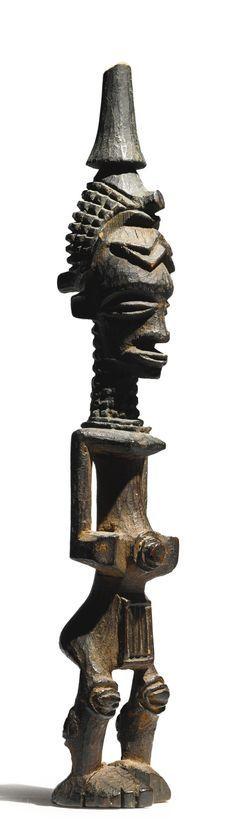Luluwa Figure, Democratic Republic of the Congo   Lot   Sotheby's