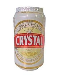 Cerveja Crystal, estilo Standard American Lager, produzida por Cervejaria Petrópolis, Brasil. 4.5% ABV de álcool.