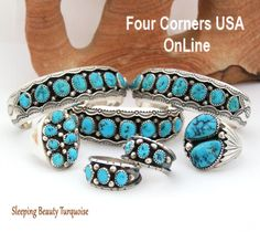 Sleeping Beauty Turquoise Four Corners USA OnLine Native American Jewelry http://stores.fourcornersusaonline.com/news/sleeping-beauty-turquoise/