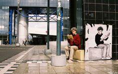 Street art Gare de Rennes