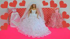 Barbie Leticia na Loja de Vestidos de Casamento!!! Em Portugues [Parte 1...
