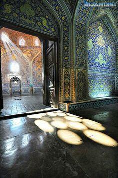 Lotf Allah Mosque,  Isfahan Iran