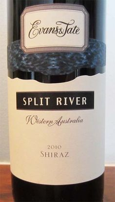 2010 Evans & Tate Split River Shiraz - pair this fresh Australian wine with your next barbecue dinner.