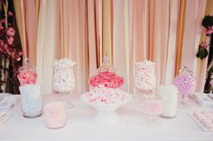 #candybuffet ♥ the variety of pinks