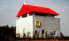 Cei House, Empoli, Italy (1991-93) designed by Italian architect & designer Ettore Sottsass
