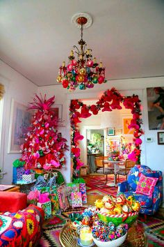colorful christmas