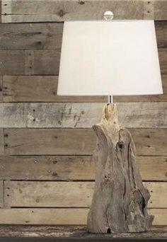modern rustic wood lamp... by Faith Rekt