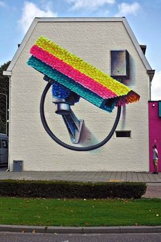 "Street art | Mural ""Pinata"" (Heerlen Murals Project, Netherlands) by Super A"