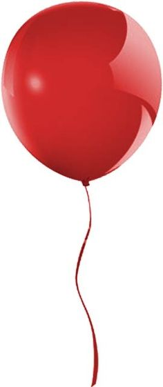 Red balloon pinned with Bazaart
