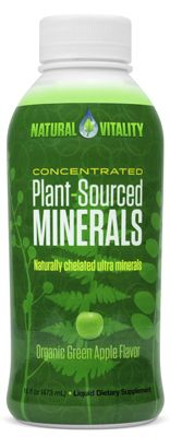 Natural Vitality Plant-Sourced Minerals Liquid