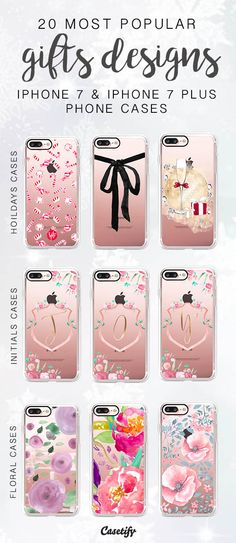 20 Most Popular Gift Designs for iPhone 7 / iPhone 7 Plus Phone Case here > https://www.casetify.com/artworks/mQ7ssIj6Fz