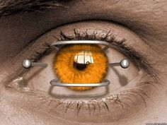 """gives a whole new meaning to """"I'd rather stick pins in my eyes"""" Eye Pictures, Cool Pictures, Pretty Eyes, Beautiful Eyes, Amazing Eyes, Opera Software, Eye Piercing, Types Of Eyes, Golden Eyes"""
