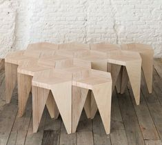 wooden side tables or coffee table