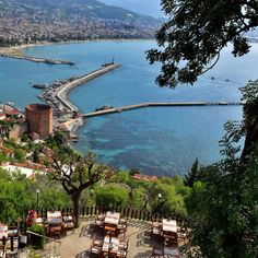Wouldn't you want to be on the golden sands, looking out over the sparkling blue waters of Alanya cooling off and enjoying the sun right now?