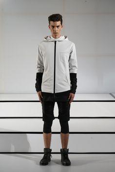 New York Fashion Week: Men's Trendsetters - TECHNICAL PARKAS: Pyer Moss Men's RTW Spring 2015