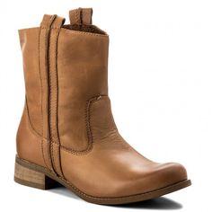 Magasított cipő WOJAS - 7604-53 Barna