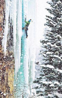 ice climbing  _______ http://TOMAxALEX.com